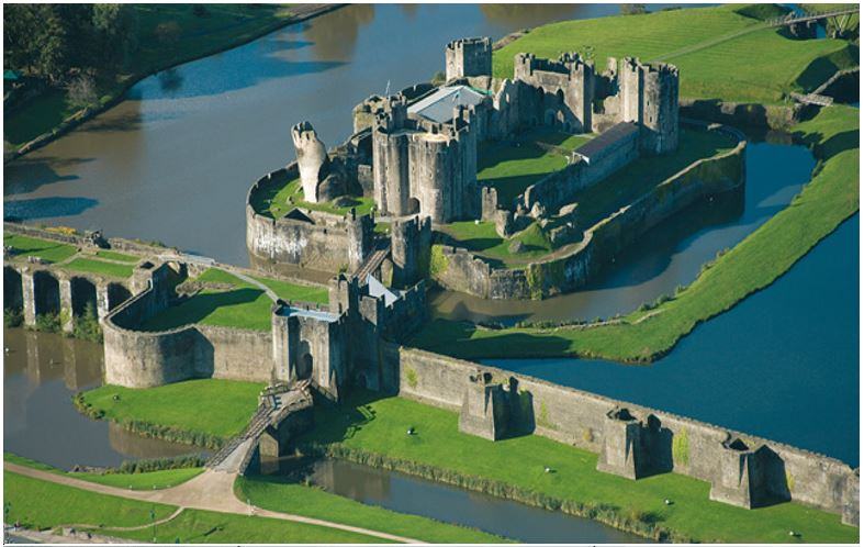caerphilly castle scotland