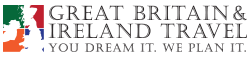 Great Britain and Ireland Travel Logo