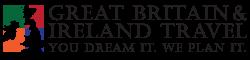 Great Britain and Ireland Travel Logo